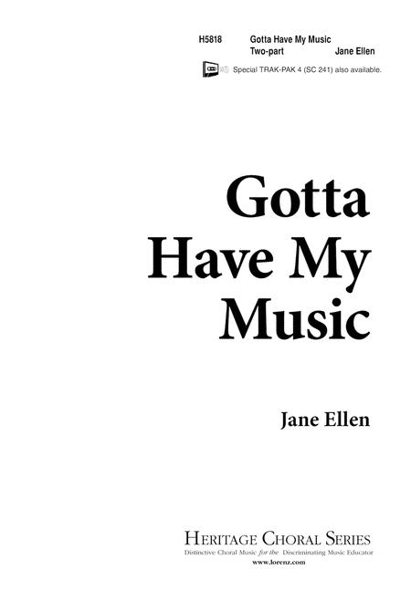 Gotta Have My Music