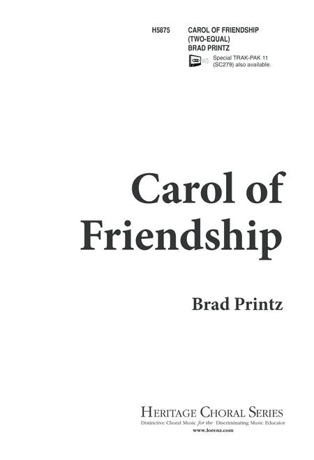 Carol of Friendship