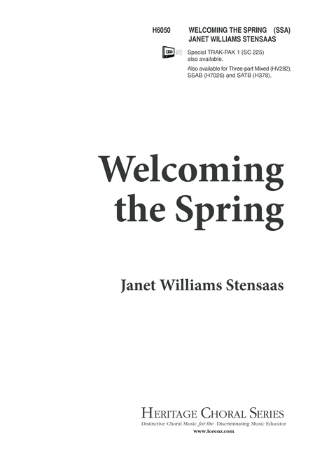 Welcoming the Spring