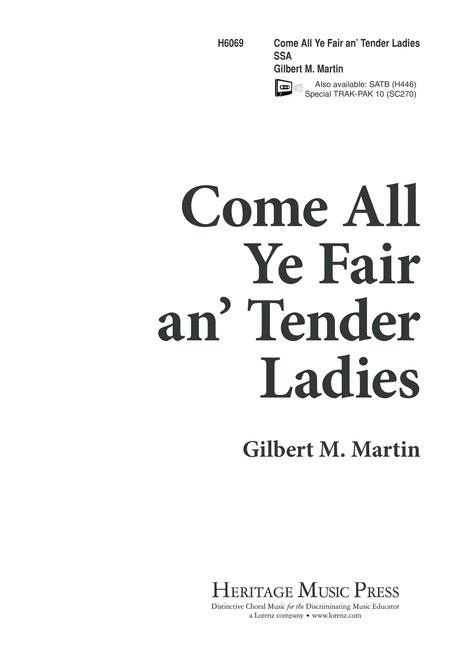Come, All Ye Fair an' Tender Ladies