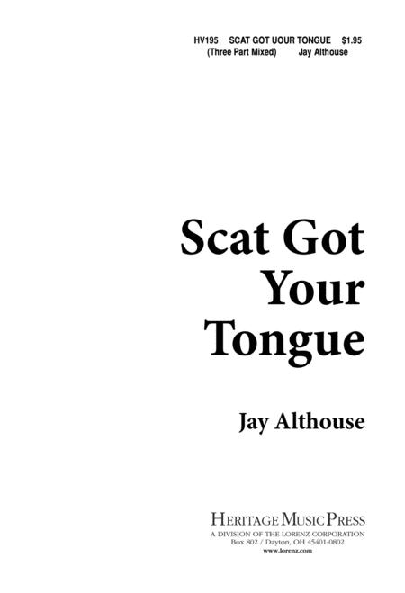 Scat Got Your Tongue
