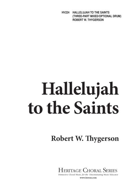 Hallelujah to the Saints