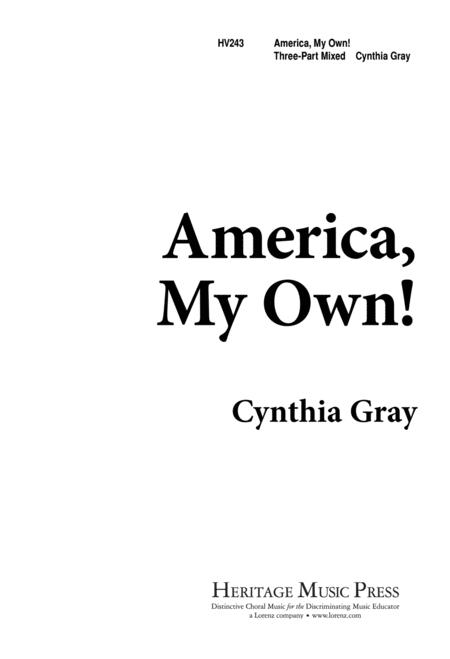 America My Own