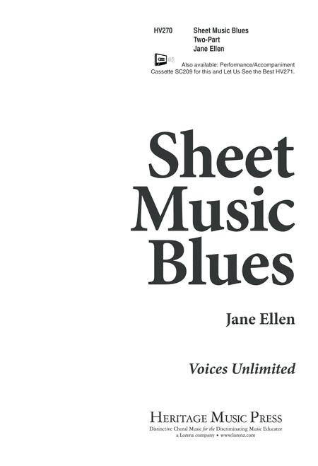 Sheet Music Blues