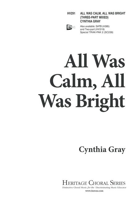 All Was Calm, All Was Bright