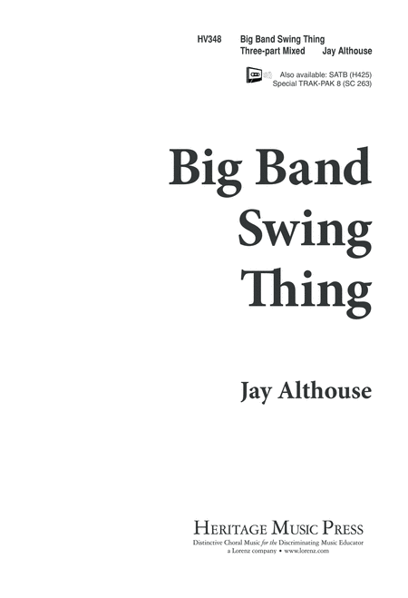 Big Band Swing Thing