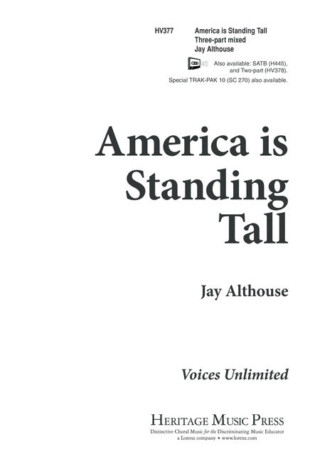 America Is Standing Tall