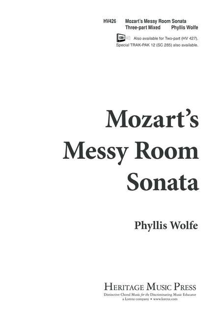 Mozart's Messy Room Sonata