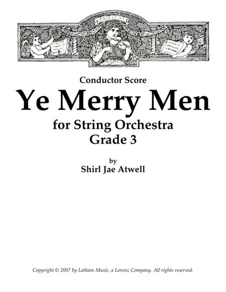 Ye Merry Men for String Orchestra - Score