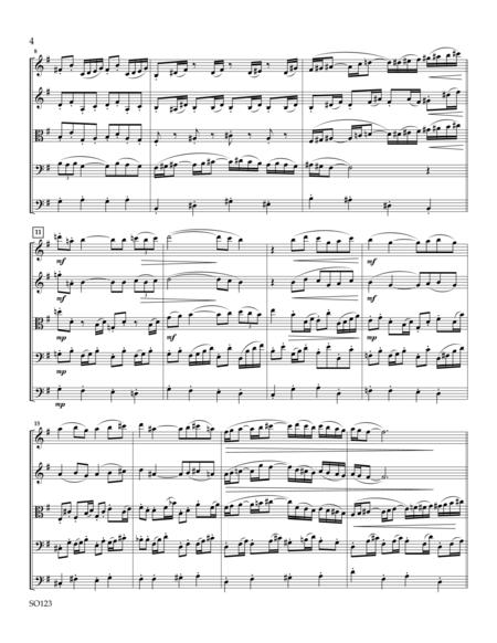 Mandoline for String Orchestra - Score