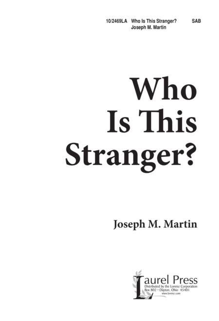 Who is This Stranger?