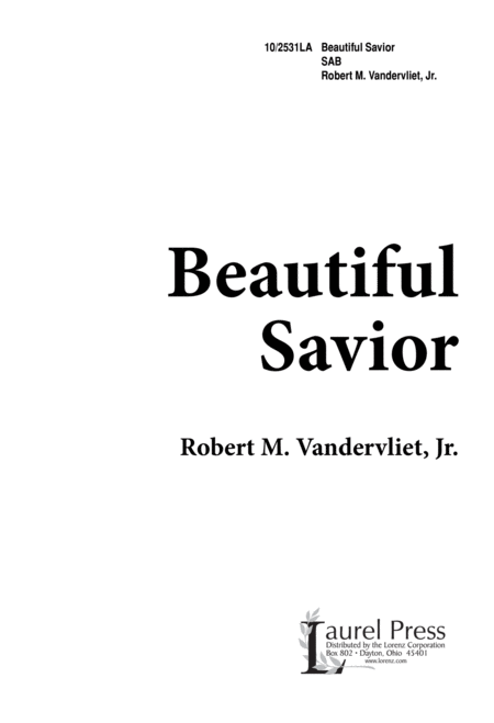 Beautiful Savior - SAB