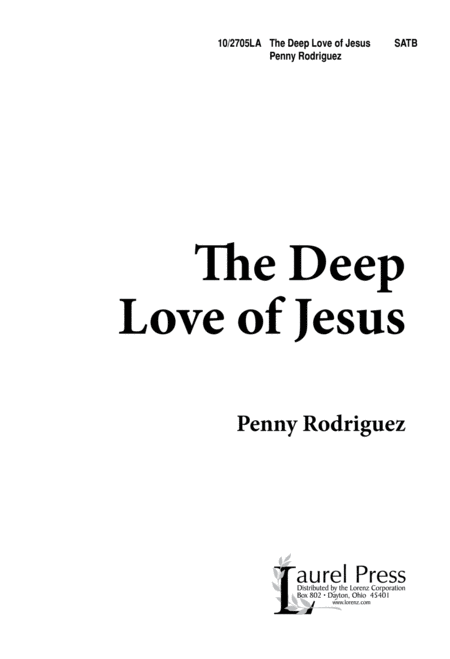 The Deep Love of Jesus