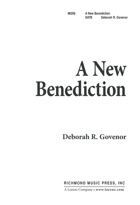A New Benediction