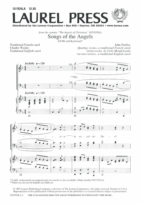 Songs of the Angels