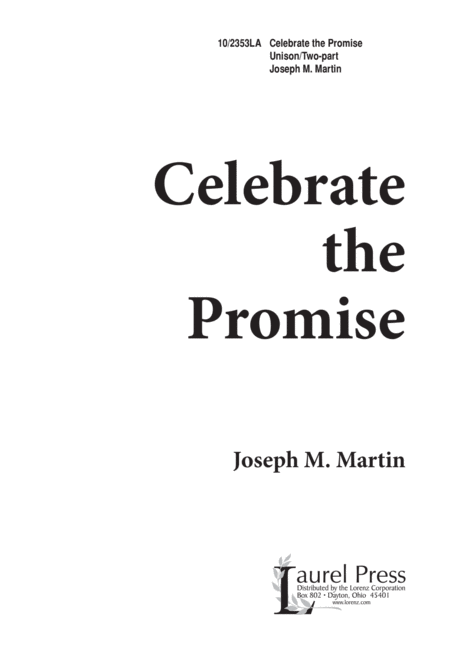 Celebrate the Promise