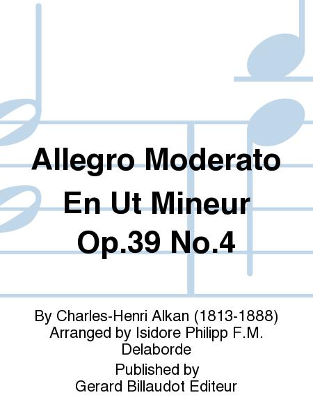 Allegro Moderato En Ut Mineur Op.39 No.4