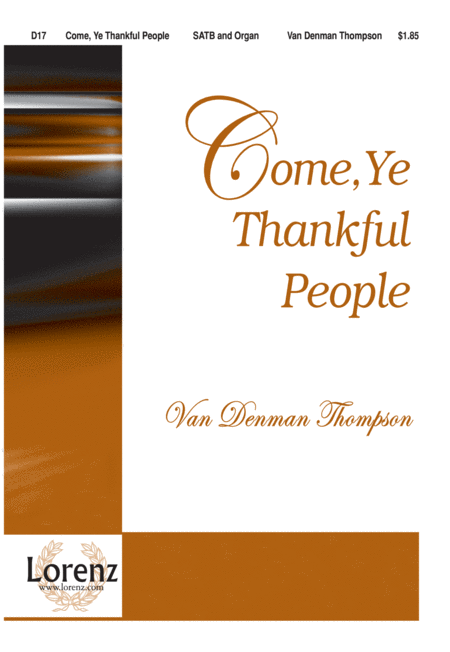 Come, Ye Thankful People