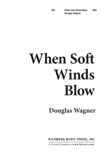 When Soft Winds Blow