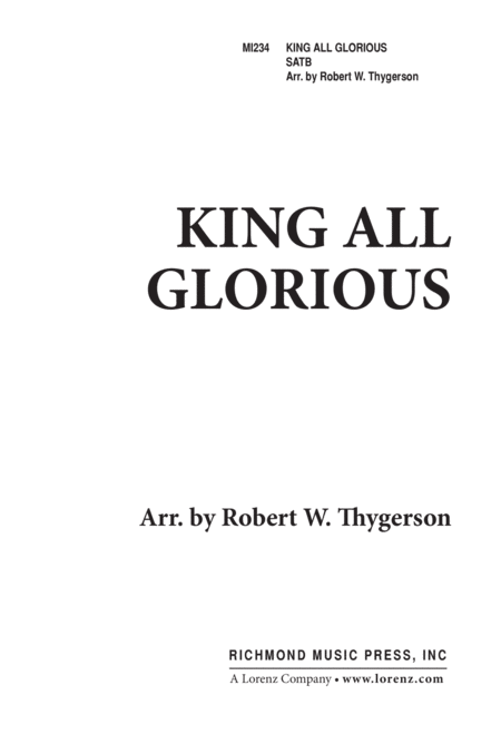 King All Glorious