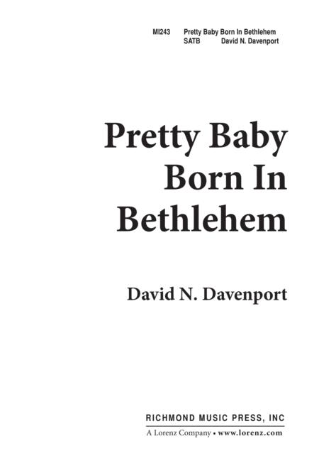 Pretty Baby Born in Bethlehem