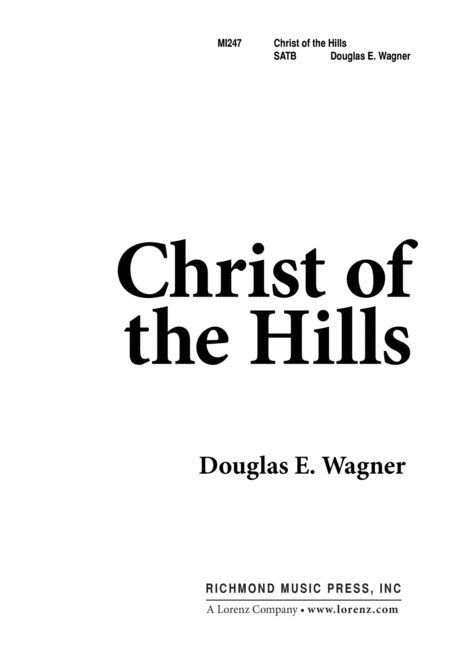 Christ of the Hills
