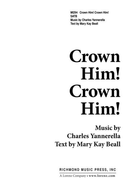 Crown Him, Crown Him!