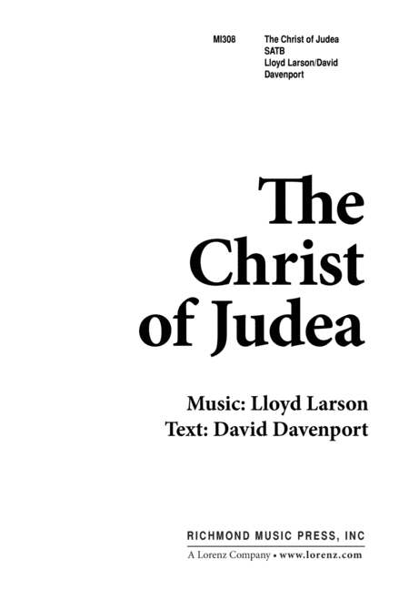 The Christ of Judea