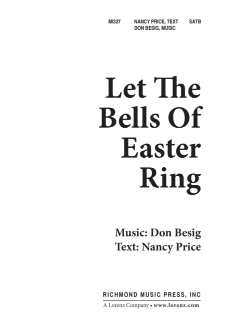 Let the Bells of Easter Ring