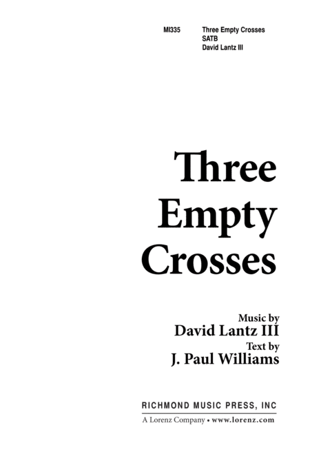 Three Empty Crosses