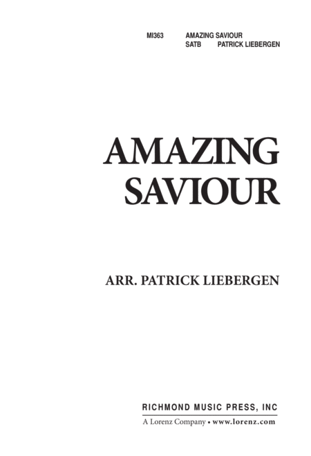 Amazing Savior