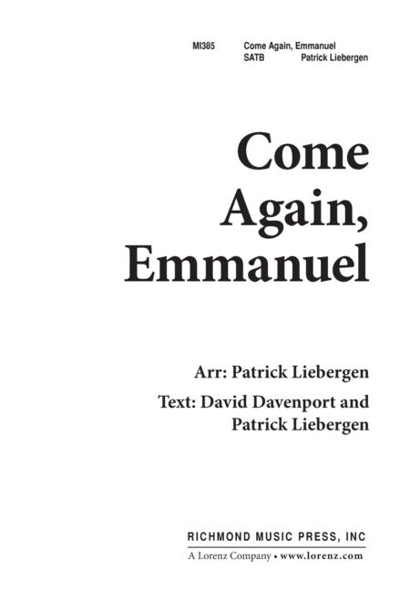 Come Again, Emmanuel