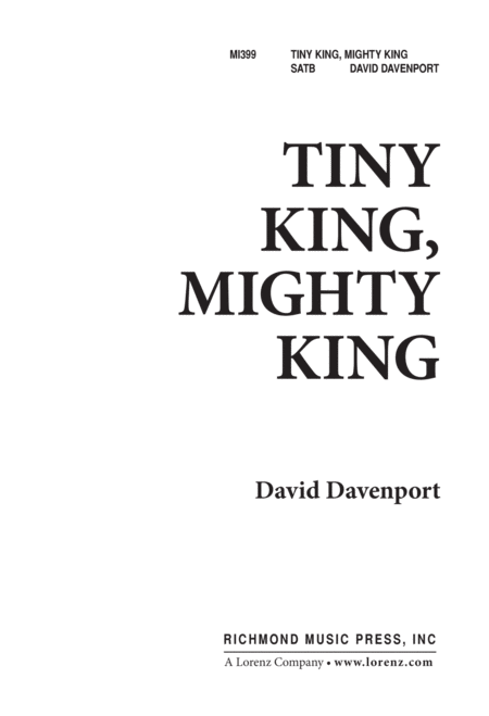 Tiny King, Mighty King