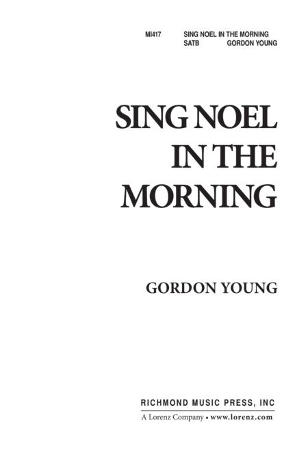 Sing Noel in the Morning