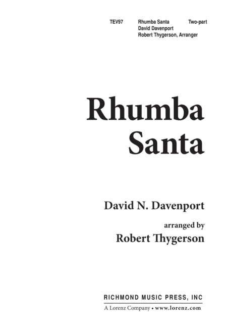 Rhumba Santa