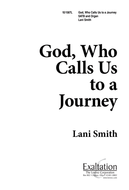God Who Calls Us to a Journey