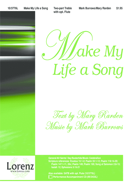Make My Life a Song