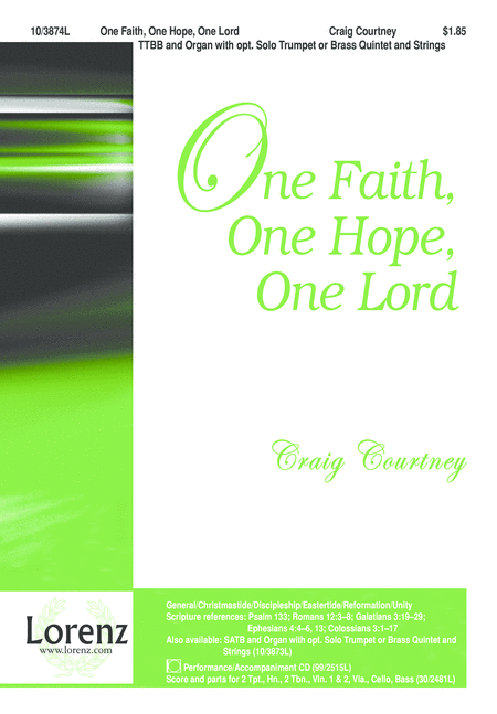 One Faith, One Hope, One Lord