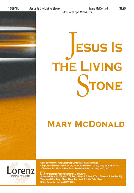 Jesus Is the Living Stone