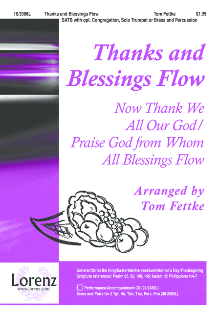 Thanks and Blessings Flow