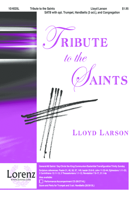Tribute to the Saints