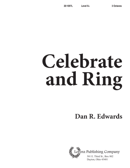 Celebrate and Ring