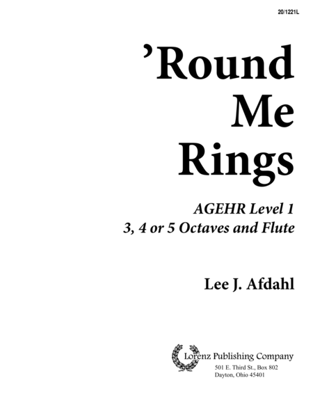 'Round Me Rings