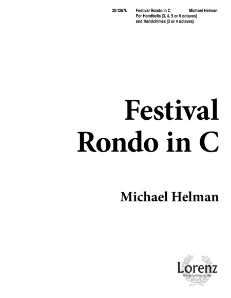 Festival Rondo In C