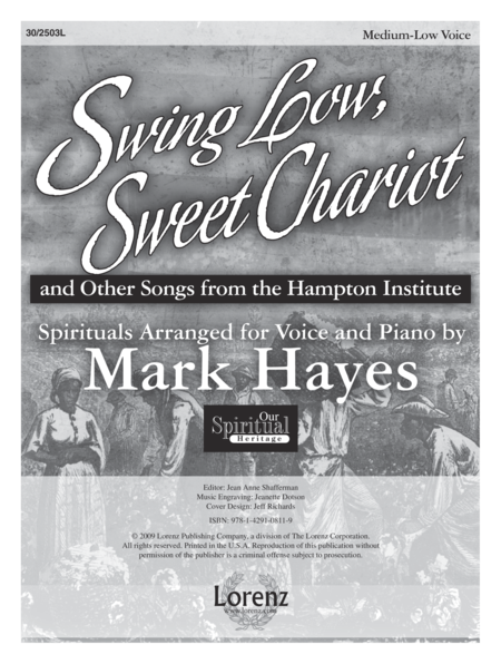 Swing Low, Sweet Chariot - Medium-low Voice