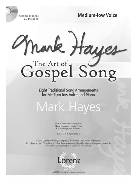 Mark Hayes: The Art of Gospel Song - Medium-low Voice