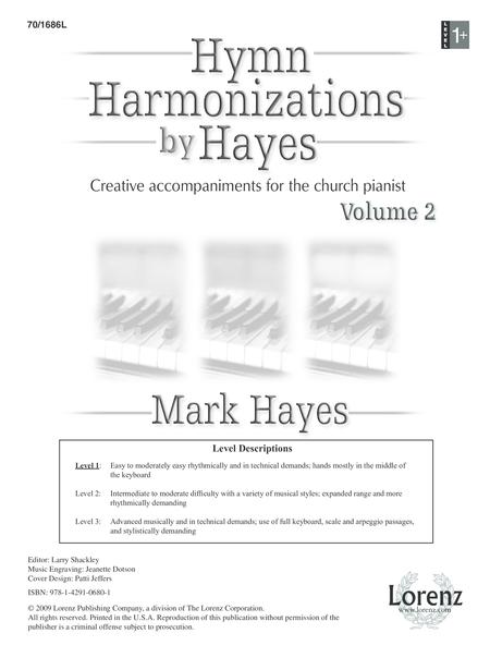 Hymn Harmonizations by Hayes, Vol. 2