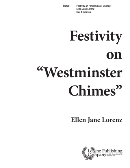 Festivity on Westminster Chimes