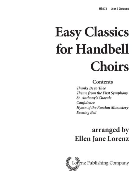 Easy Classics for Handbells