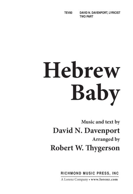 Hebrew Baby